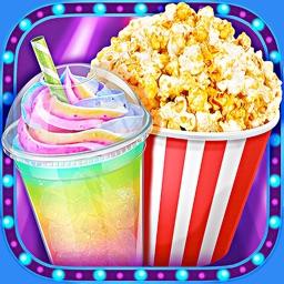 Crazy Movie Night Food Party