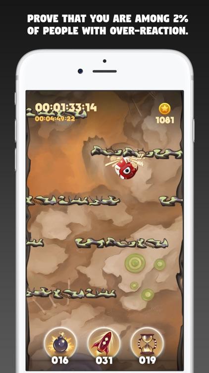 Bear's Dungeon - Reaction game