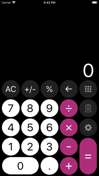 Calculator - with history tape screenshot-6
