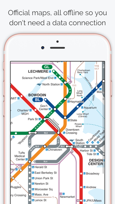 Data Science Subway Map.Boston Subway Map The T By Bappz Ios United States Searchman