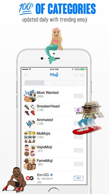 Moji™ screenshot-3