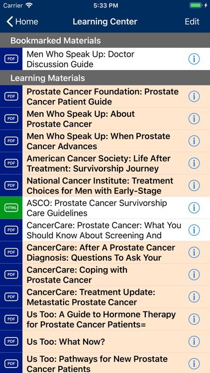 Prostate Cancer Manager screenshot-5