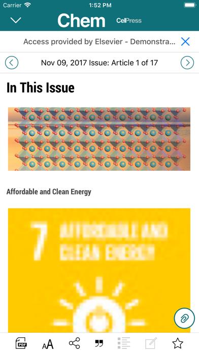 Chem Journal Reader screenshot 4