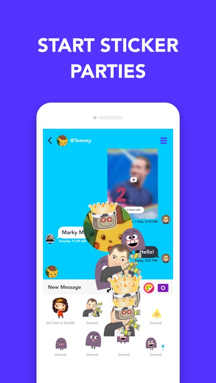 Pop: Chat with Stickers screenshot-3