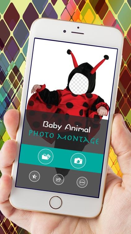 Baby Animal Photo Montage screenshot-3