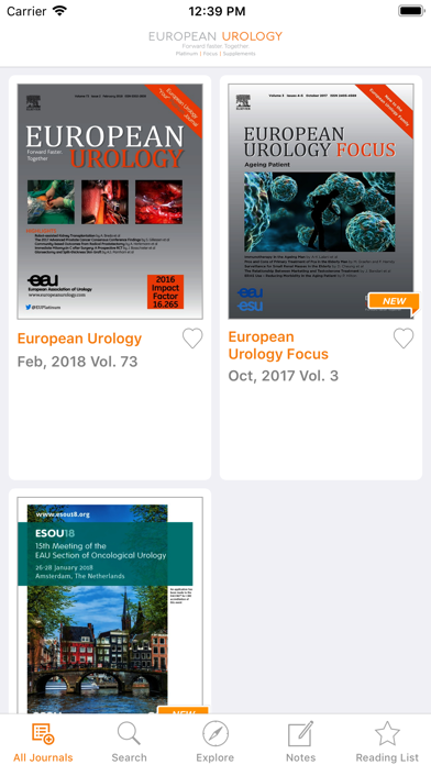 European Urology screenshot 2