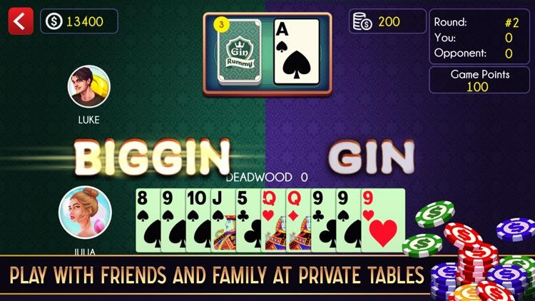 Gin Rummy ++ screenshot-4