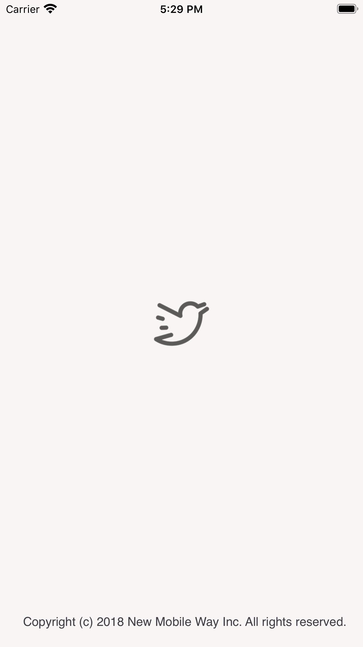 Screenshot do app Simple T for Twitter