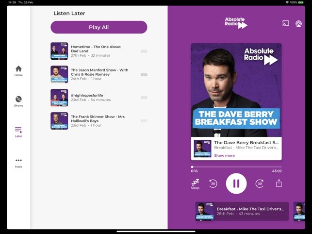 c900ccad11e4  Absolute Radio on the App Store