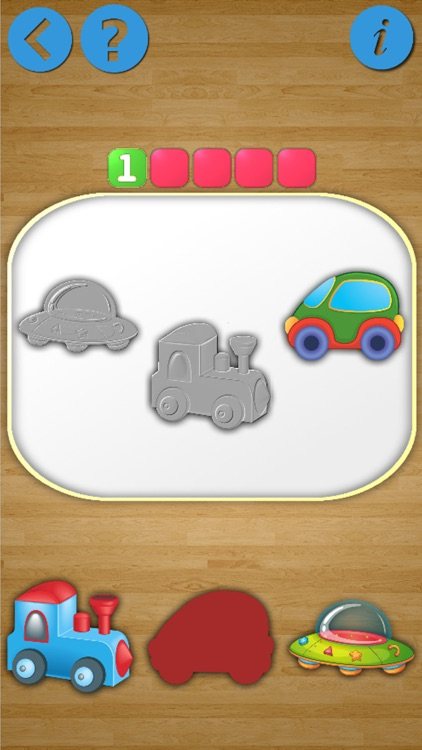 The shadow puzzle cars game