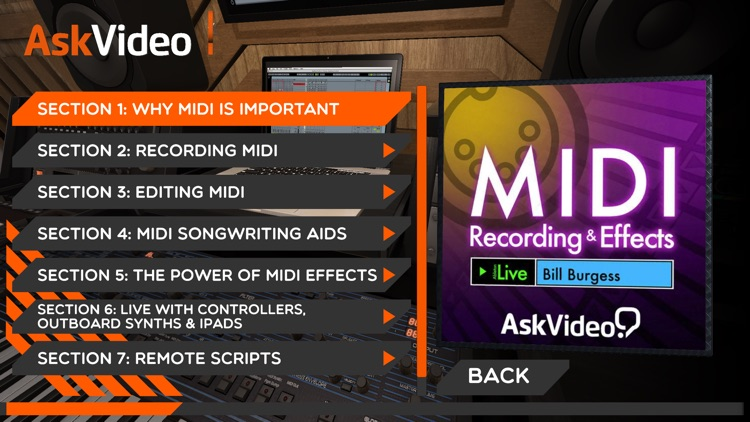 MIDI Recording and Effects