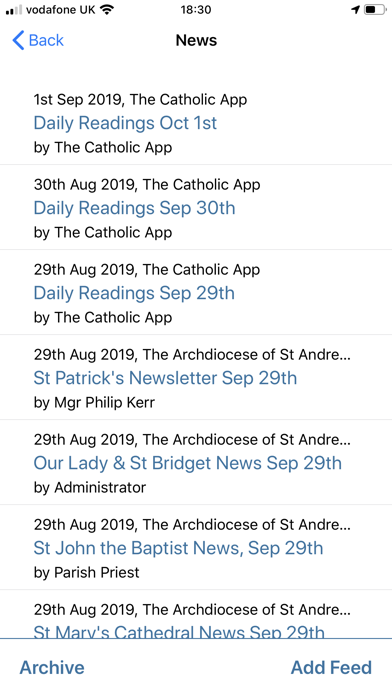 Die Katholische AppScreenshot von 9