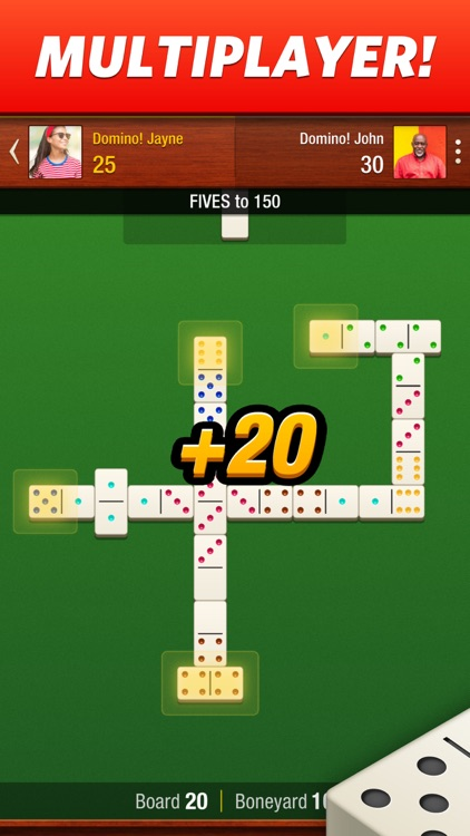Domino! - Multiplayer Dominoes screenshot-0