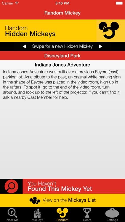 Hidden Mickeys: Disneyland screenshot-4