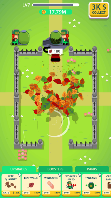 Leaf Factory Idle screenshot 1