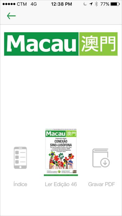 Revista Macau screenshot four
