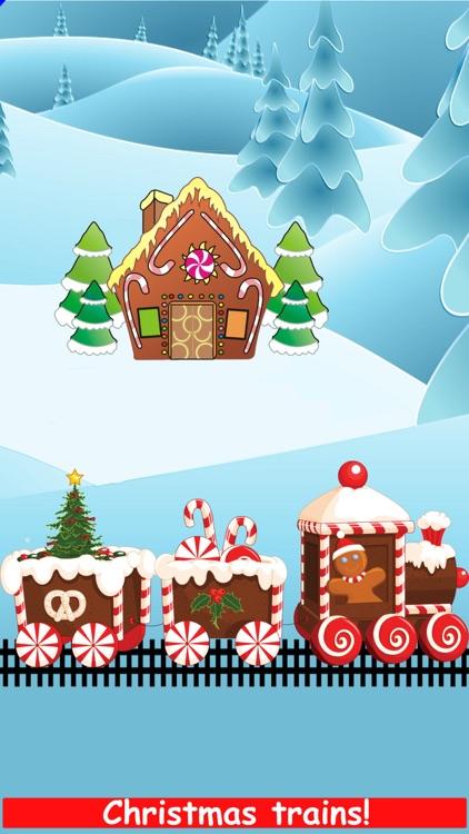 Christmas Train Snowman Games screenshot-8