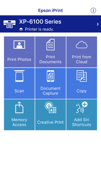 Epson Iprint review screenshots