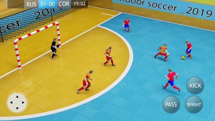 Indoor Soccer 19: Futsal Cup screenshot-0