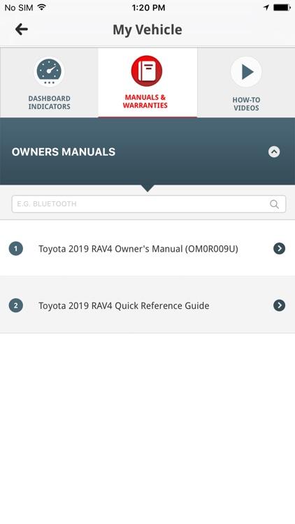 Toyota Owners screenshot-4