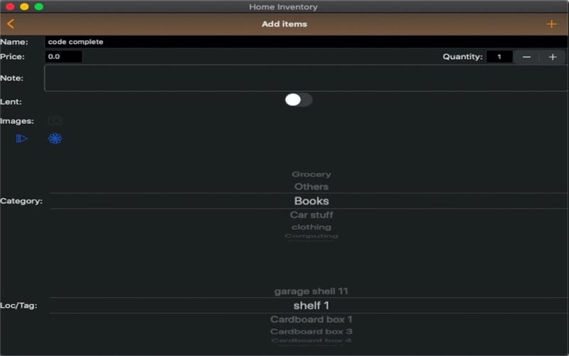 Easy Home Inventory :) скриншот программы 6