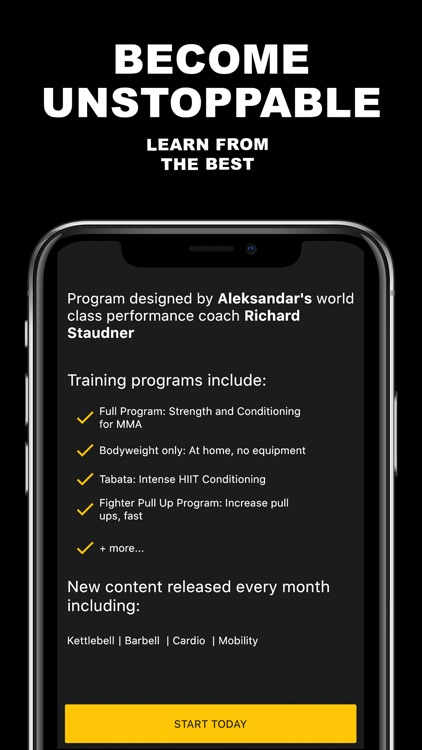 ATHLETE.CO MMA Workout Program screenshot-6
