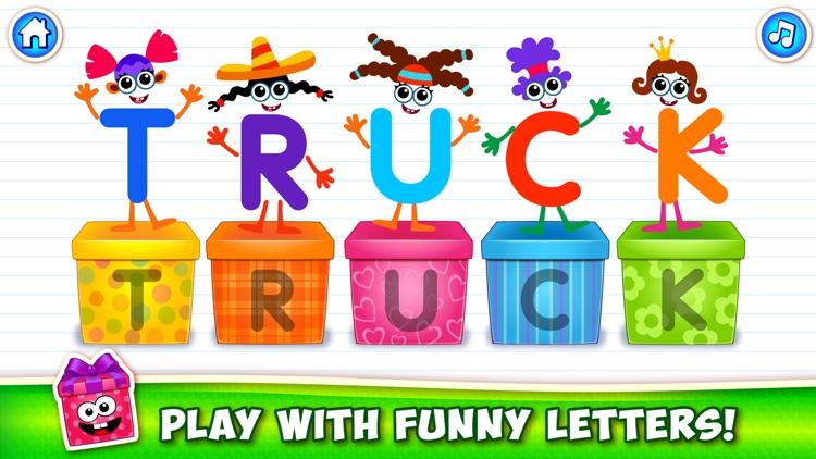 ABC Kids Games: Learn Letters! screenshot-3