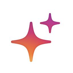 Ícone do app Glitter Sparkle Effect: Glitty
