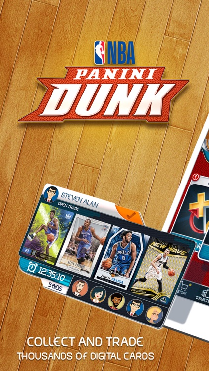 NBA Dunk - Trading Card Games screenshot-0