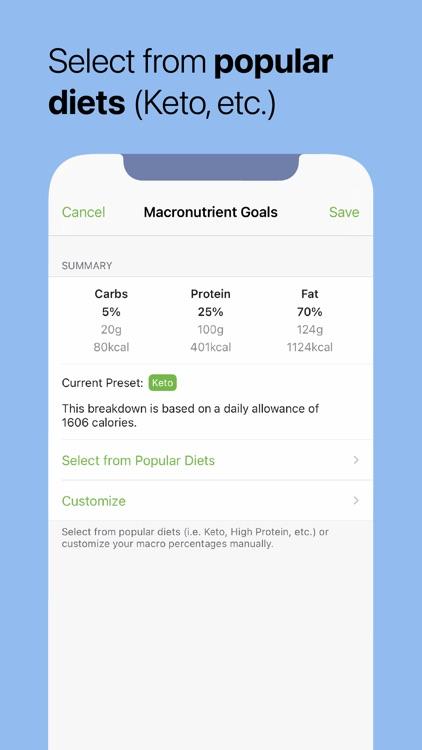 MooveFit Calorie, Keto Counter screenshot-3