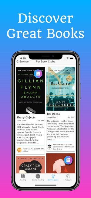 Bookship - book club chat on the App Store