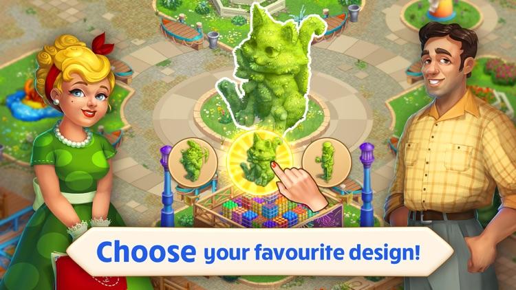 Matchland: Build A Theme Park