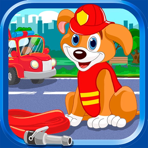 Puppies Fire Patrol