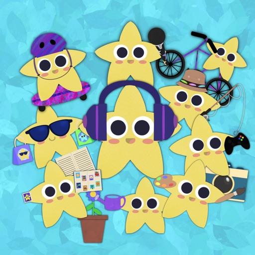 Hobby Stars Sticker Pack
