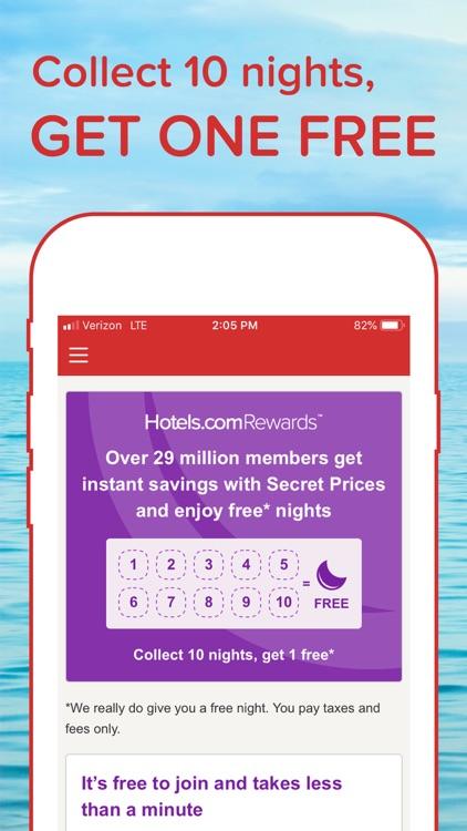 Hotels.com: Book your hotel screenshot-0