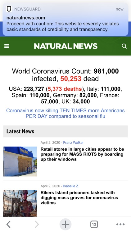 NewsGuard - News Trust Ratings