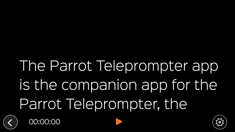 Parrot Teleprompter screenshot-3