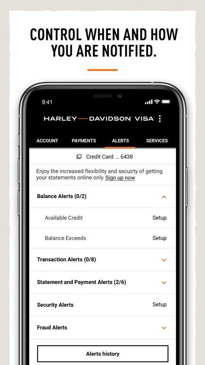 Harley-Davidson® Visa Card screenshot-4