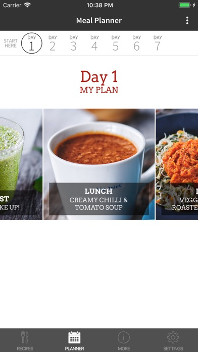 Screenshot for Jason Vale's Super Fast Food in United Arab Emirates App Store