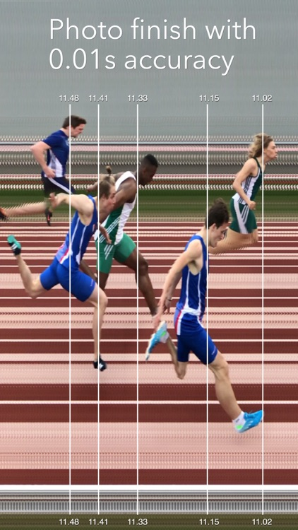 SprintTimer - Photo Finish screenshot-0
