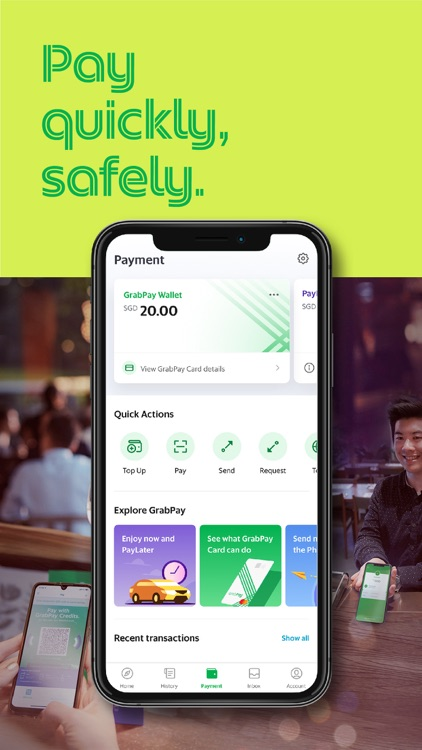 Grab: Food, Grocery, Ride, Pay screenshot-4