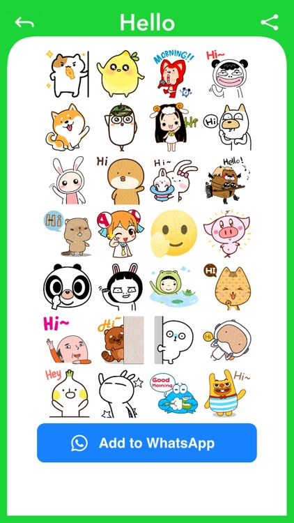 Funny Face - Photo Stickers screenshot-4
