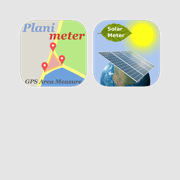 GPS Solar and Area Measure - essential tools for solar system planning