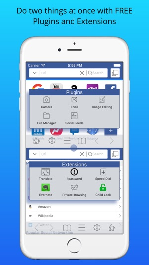 Split Screen Multitasking View Screenshot