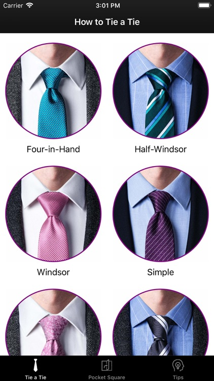 How To Tie a Tie •