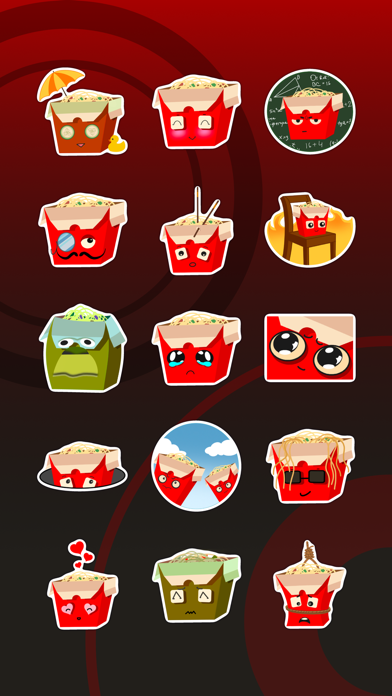 Скриншот №1 к Wok Stickers