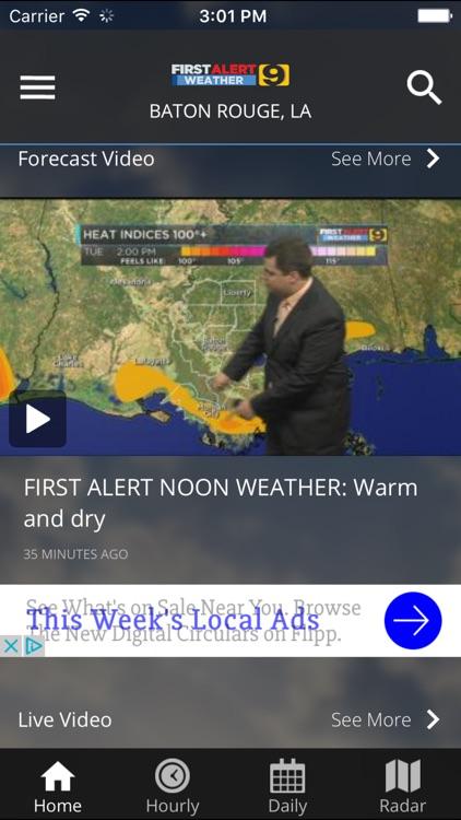 WAFB First Alert Weather screenshot-4