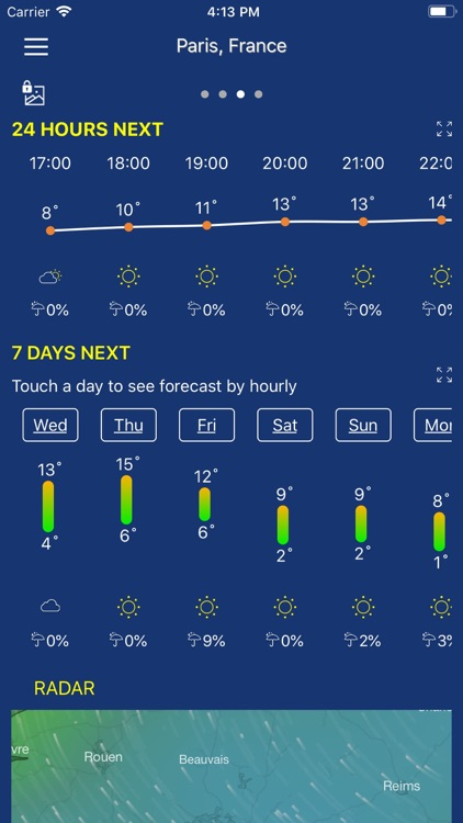 Accurate Weather forecast pro screenshot-3