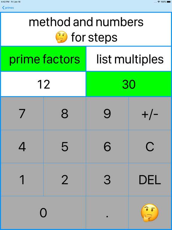 20/20 Primes and Factor Trees screenshot 12