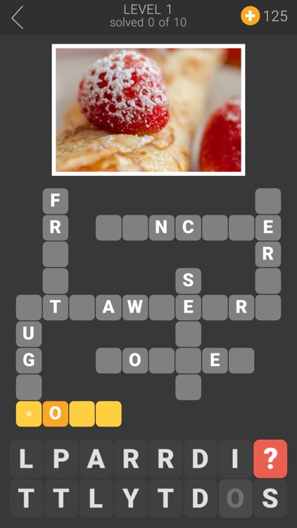 Tasty Word Puzzle